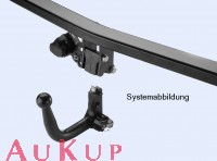 Towbar Fiat 500 Abarth detachable