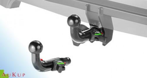 Für Chrysler Jeep Compass MX Anhängerkupplung horizontal abnehmbar Auto Hak
