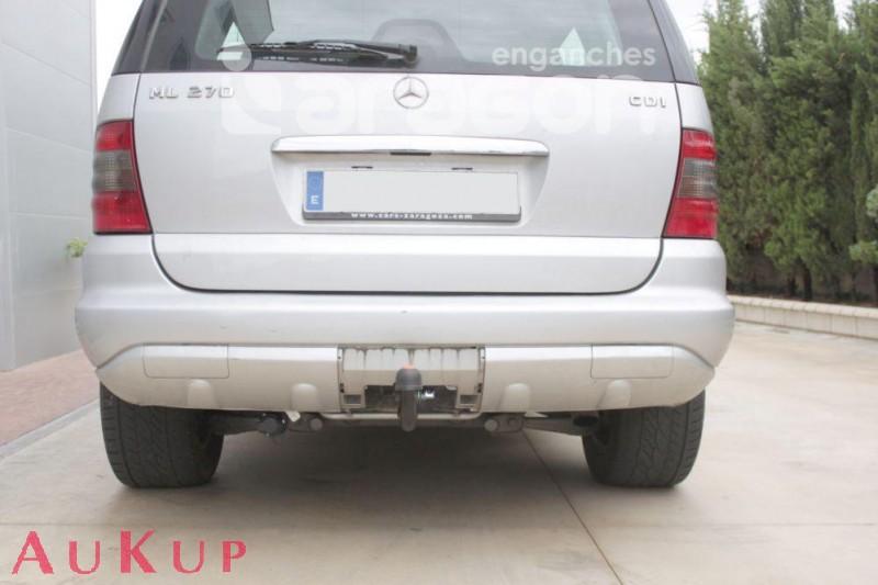 AHK Mercedes M-Klasse W163 Anhängerkupplung mit ES7 EPH Einparkhilfe Abschaltung