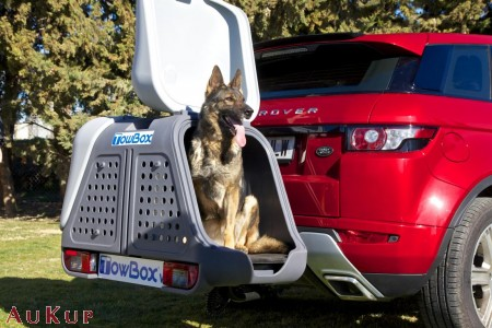 Hundebox f r anh ngerkupplung aukup kfz zubeh rhandels gmbh for Towbox usato