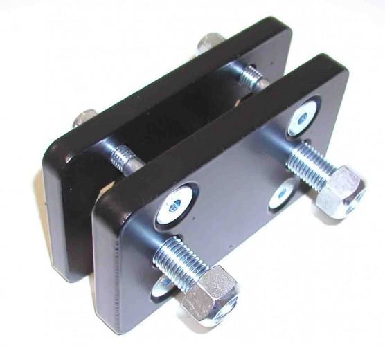 adapterplatte von 2 loch befestigung 90 mm auf aukup. Black Bedroom Furniture Sets. Home Design Ideas
