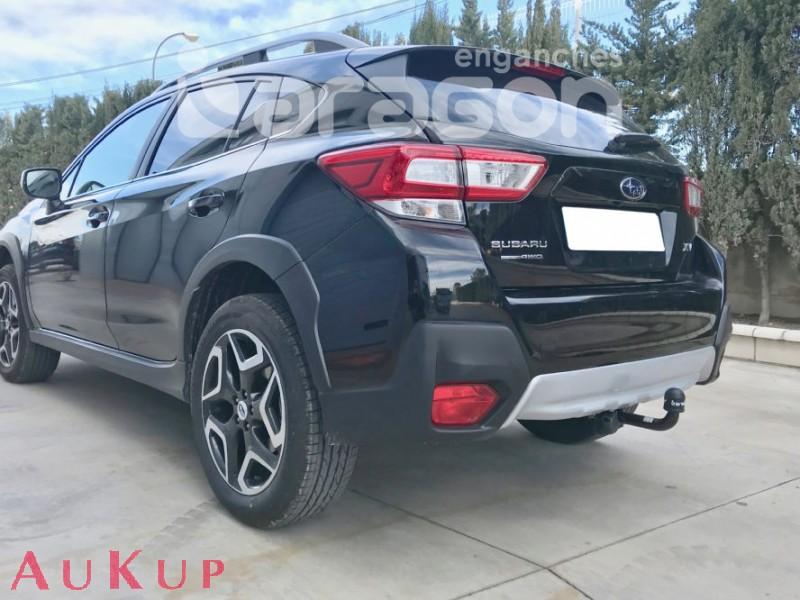Für Subaru XV ab12 Anhängerkupplung abnehmbar vertikal 7pol E-Satz