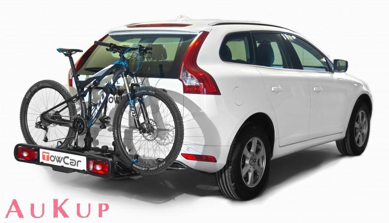 fahrradtr ger auf anh ngerkupplung f r e bike aukup. Black Bedroom Furniture Sets. Home Design Ideas