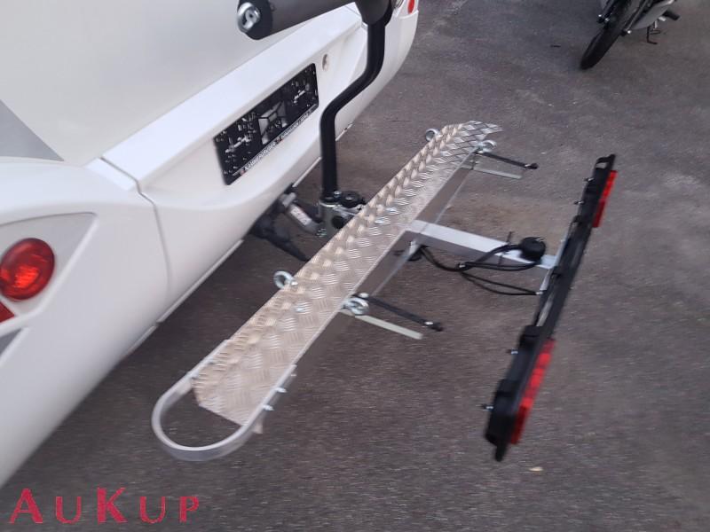 motorradhecktr ger auf ahk f r wohnmobile aukup kfz. Black Bedroom Furniture Sets. Home Design Ideas