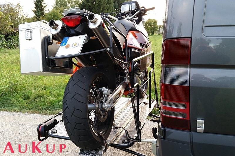 motorradtr ger vw bus transporter t5 t6 250 kg aukup. Black Bedroom Furniture Sets. Home Design Ideas